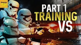 FIRST ORDER VS CLONE TROOPERS VS STORMTROOPERS (TRAINING) PART 1