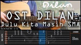 Ost Dilan 1990 - Dulu Kita Masih SMA / Remaja Cover Fingerstyle【TAB & CHORD】Tutorial Gitar Mp3
