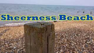 Sheerness Beach.