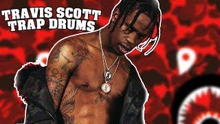 Travis Scott AstroWorld Trap Drums Beat Tutorial