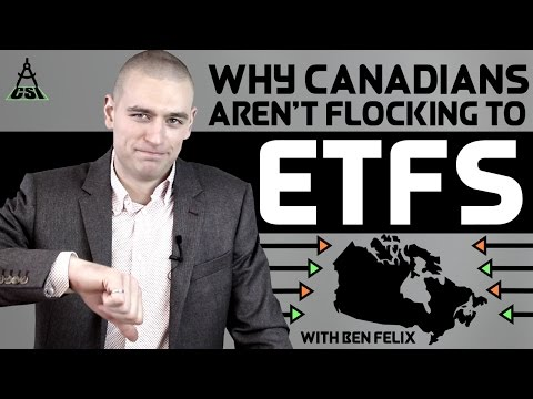 Why Canadians Aren't Flocking To ETFs | Common Sense Investing With Ben Felix