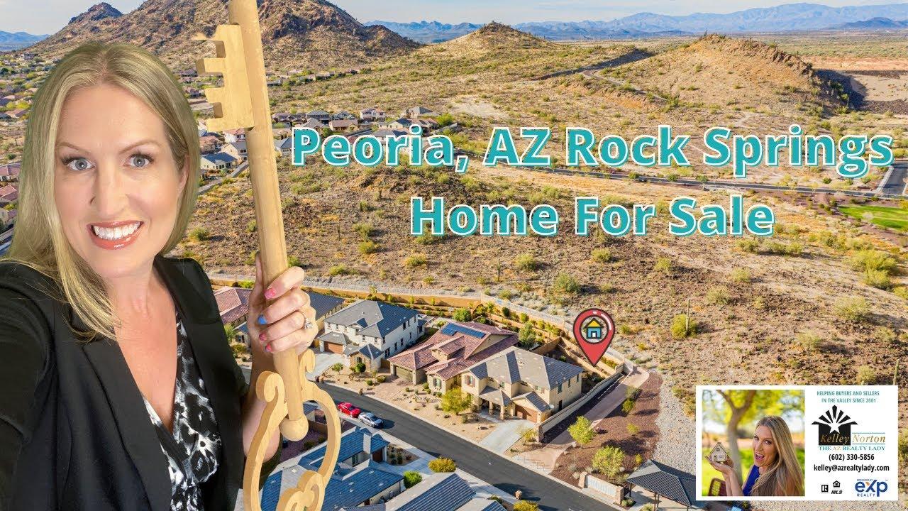 Peoria AZ Rock Springs Home For Sale