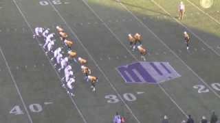 Tim Gleeson - Rugby Punts 2012 - University of Wyoming