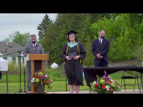 Machias Memorial High School Graduation Class of 2020. Machias Maine