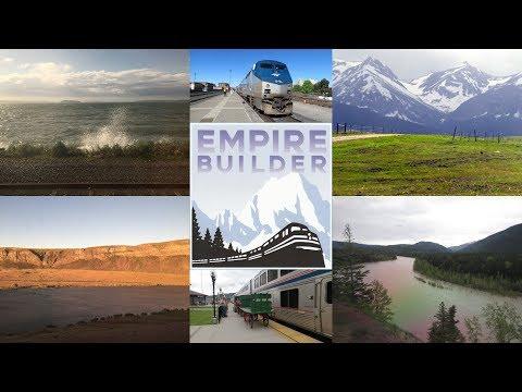 Amtrak Empire Builder 8 Eastbound Trip Highlights - Seattle to Chicago (Summer 2017)