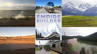 Amtrak Empire Builder 8 Eastbound Trip Highlights - Seattle to Chicago (Summer 2017)