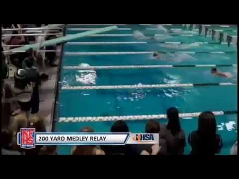 2015 IHSA Girls Swimming & Diving State Finals