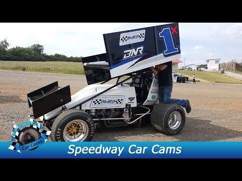 #1X Scott Hunter - ASCS Lucas Oil Sprint Car - 8-26-17 Smoky Mountain Speedway - In Car Camera