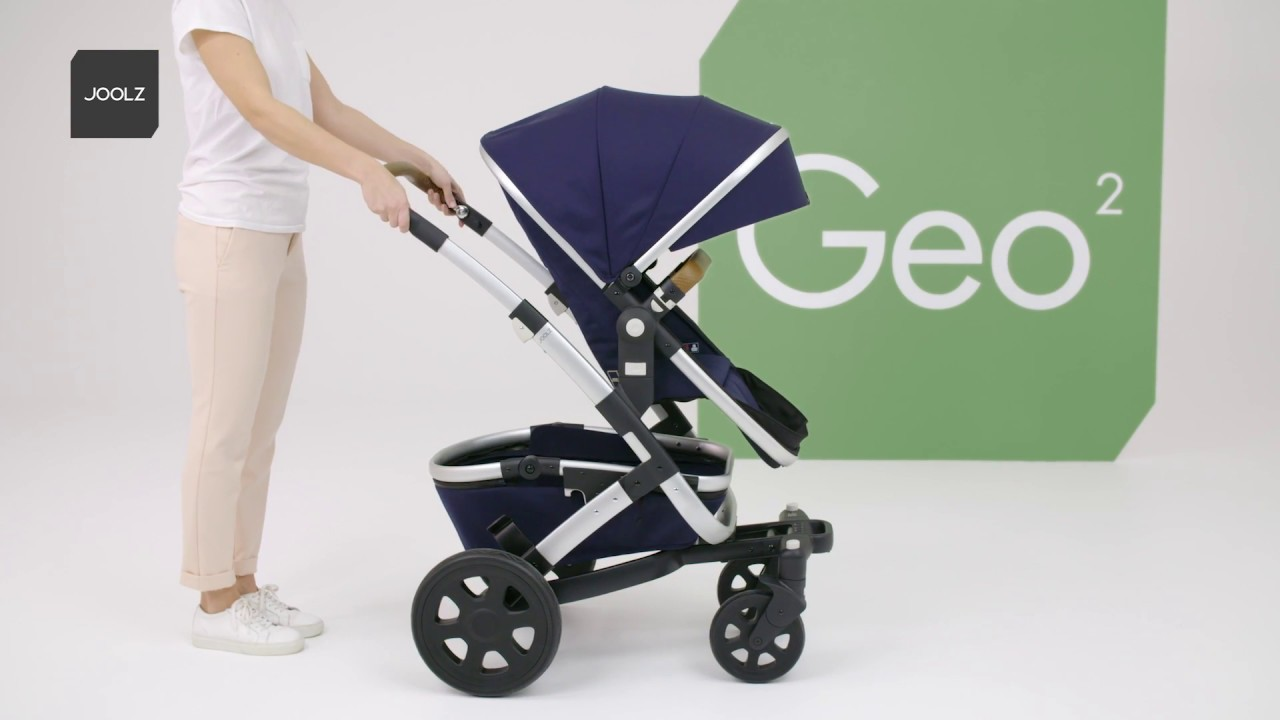 Joolz Geo 2 Quadro Collection Expansion Pack With Seat And Carrycot Blue