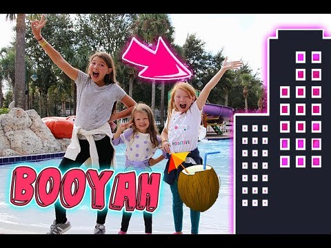 LOOK WHERE WE'RE STAYING! LAST HOTEL REVEAL! FLORIDA 2017 DAY 20!