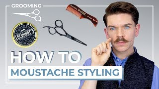 How To Style A Handlebar Moustache | 3 Step Tutorial