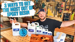 3 Ways to Get the Most Out of Epoxy Resin | Total Boat DIY Projects