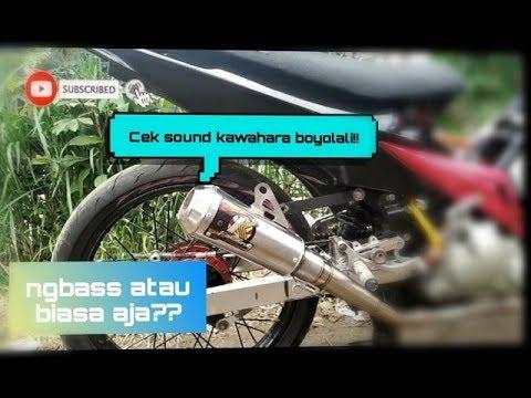Cek Sound Knalpot Kawahara Boyolali Di Jupiter Mx •|• Info Pemesanan Cek Deskripsi