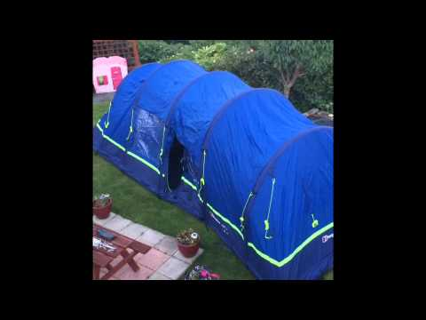 62ac6f4f2de Amateur Review of Berghaus Air 8 inflatable tent from Millets by Bob. 2015