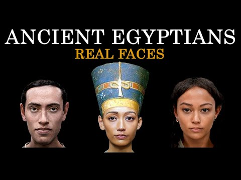 Ancient Egyptians-Pharaohs-Real Faces