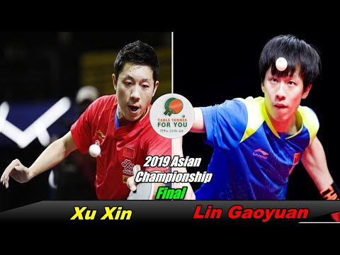 Xu Xin Vs Lin Gaoyuan II Men's Final II 2019 Asian Championships II Ксю Ксинь - Линь Гаоюань