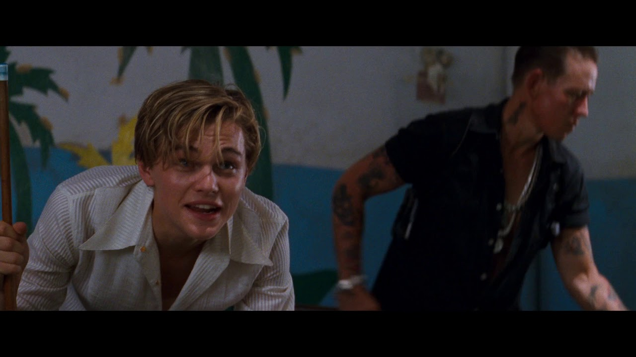 Download Romeo And Juliet(1996) - Benvolio And Romeo At The Pool Hall