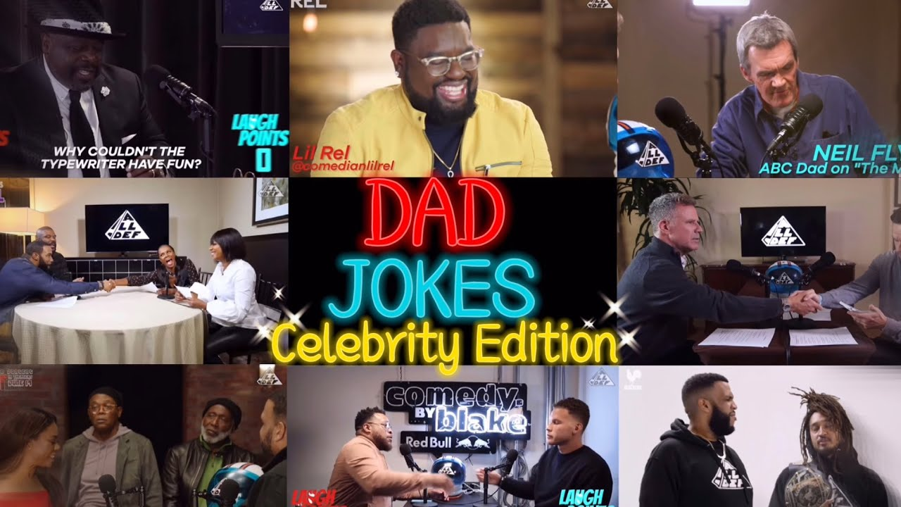 Dad Jokes Best Moments (Celebrity Edition) | All Def