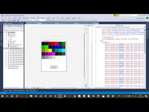schichtplaner wpf textfeld zu button mit farbe youtube
