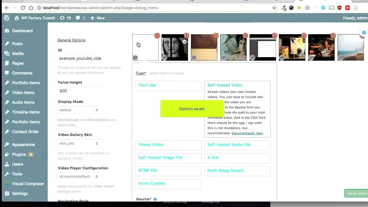 CodeCanyon, DZS Video Gallery WordPress - How to play mp4 from google drive