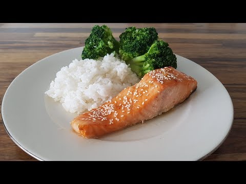 Honey Soy-Glazed Salmon Recipe | How To Make Baked Salmon