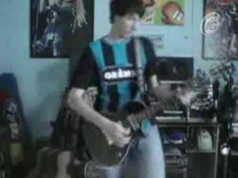 hino do gremio tocado na guitarra