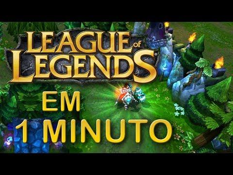 LEAGUE OF LEGENDS EM 1 MINUTO