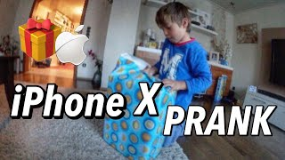 IPHONE X BIRTHDAY PRANK