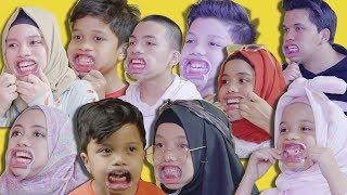 Tebak Lagu Pake Alat Dokter Gigi | Mouth Guard Challenge Gen Halilintar
