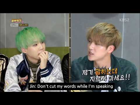 BTS Jin, the one who can control savage Suga