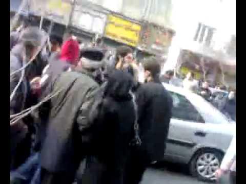Iran 27 Dec 09 Tehran Gunshot in College Crossroad