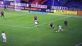 MILAN GENOA 1-0 ANDRE SILVA SKY