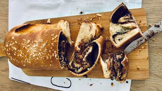 Nutella Swirl Bread - Episode 454 - Baking with Eda