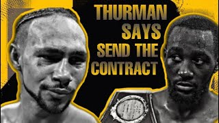 THE RELAY: Thurmans hit list, Pacquiao, Spence, Crawford, Tells Crawford to send contract to fight?!