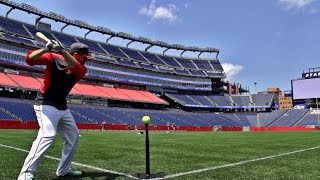 Gillette Stadium Trick Shots | Dude Perfect thumbnail