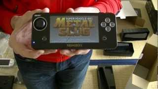 Neo Geo X Gold Limited Edition Unboxing (Ita - Sub Eng)