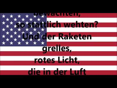 Nationalhymne Usa Text Deutsch