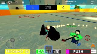 Roblox slapshot goal moves