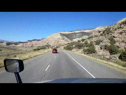 BigRigTravels LIVE! Silt to De Beque, Colorado Interstate 70 West-Oct. 14, 2017