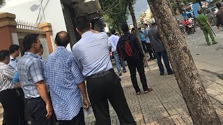 Nghi án trụ sở công an phường ở Sài Gòn bị đặt bom