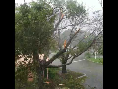 Hurricane Irma 9/10/17 3:30pm from Pembroke Pines, FL