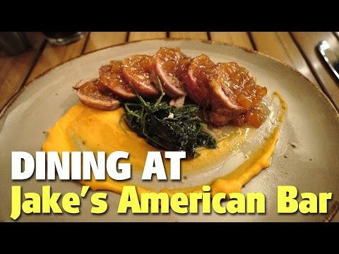 Dining at Jake's American Bar | Royal Pacific Resort