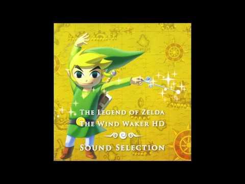 The Legend Of Zelda The Wind Waker HD - Full OST Soundtrack (Wii-U)