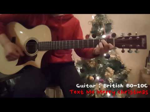 (Straight No Chaser) Text Me Merry Christmas - Fingerstyle Guitar