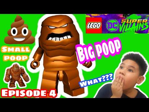 LEGO POOP???   Kid plays LEGO DC Super Villains   04  