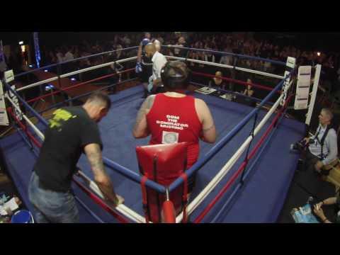 Ultra White Collar Boxing | Stevenage | Dom Mussino VS James Layng