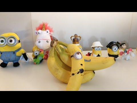 Minion Chiquita Bananas Despicable Me 3 Promotion Youtube
