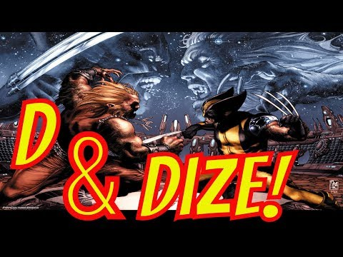 Groot, Sabertooth, and Wolverine D&Dized Plus This Week in Comics- Nerdarchy Network