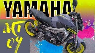 Yamaha MT 09 😈 como a rata 😲