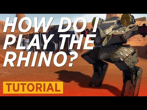 War Robots [WR] Tutorial - How to play the RHINO
